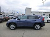 2013 Twilight Blue Metallic Honda CR-V EX AWD #77107595