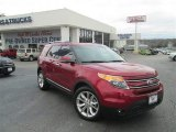 2013 Ruby Red Metallic Ford Explorer Limited #77107090