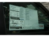 2013 Toyota Tundra Double Cab 4x4 Window Sticker