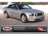 2009 Brilliant Silver Metallic Ford Mustang GT Premium Convertible #77107268