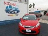 2013 Race Red Ford Fiesta SE Sedan #77107083