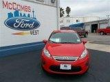 2013 Race Red Ford Fiesta SE Sedan #77107081
