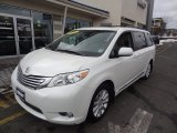 2011 Blizzard White Pearl Toyota Sienna Limited AWD #77107552