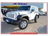 2012 Bright White Jeep Wrangler Sport 4x4 #77167252