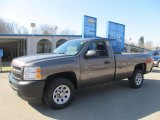 2013 Mocha Steel Metallic Chevrolet Silverado 1500 Work Truck Regular Cab #77166949