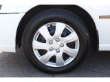 Nissan Altima 2001 Wheels and Tires