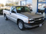 2006 Silver Birch Metallic Chevrolet Silverado 1500 Work Truck Regular Cab #77167512
