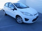 2013 Oxford White Ford Fiesta S Hatchback #77167125
