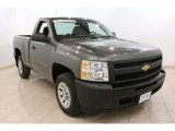 2011 Steel Green Metallic Chevrolet Silverado 1500 Regular Cab #77167327