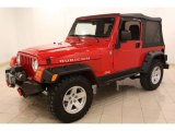 2006 Jeep Wrangler Flame Red