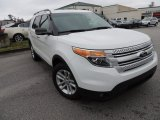 2013 White Platinum Tri-Coat Ford Explorer XLT EcoBoost #77167222