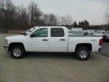 2012 Summit White Chevrolet Silverado 1500 LS Crew Cab 4x4 #77167492