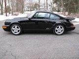 1993 Porsche 911 Black