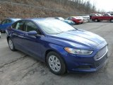 2013 Deep Impact Blue Metallic Ford Fusion S #77167013