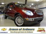 2009 Red Jewel Tintcoat Buick Enclave CXL AWD #77167090