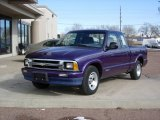 1996 Chevrolet S10 Radar Blue Metallic