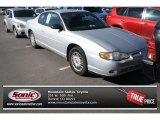 2000 Galaxy Silver Metallic Chevrolet Monte Carlo LS #77166795