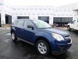 2010 Navy Blue Metallic Chevrolet Equinox LS AWD #77219050