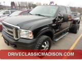 2005 Black Ford F350 Super Duty FX4 SuperCab 4x4 Dually #77219246