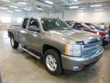 2008 Graystone Metallic Chevrolet Silverado 1500 LT Extended Cab 4x4 #77219438