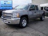 2013 Graystone Metallic Chevrolet Silverado 1500 LT Extended Cab 4x4 #77218840