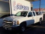 2012 Summit White Chevrolet Silverado 1500 LT Extended Cab #77218937