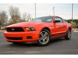 2012 Race Red Ford Mustang V6 Premium Coupe #77219232