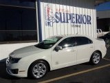 2010 White Suede Ford Fusion SEL #77218926