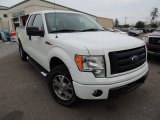 2010 Oxford White Ford F150 STX SuperCab 4x4 #77219125
