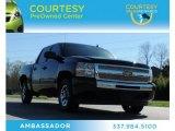 2009 Black Chevrolet Silverado 1500 Crew Cab #77219222