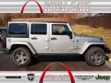 2013 Billet Silver Metallic Jeep Wrangler Unlimited Oscar Mike Freedom Edition 4x4 #77218805