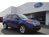 2013 Deep Impact Blue Metallic Ford Explorer XLT #77219009