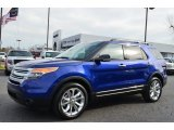Deep Impact Blue Metallic Ford Explorer in 2013