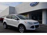 2013 White Platinum Metallic Tri-Coat Ford Escape SEL 1.6L EcoBoost #77219008