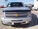 2013 Silver Ice Metallic Chevrolet Silverado 1500 LT Crew Cab 4x4 #77219326