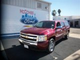 2009 Deep Ruby Red Metallic Chevrolet Silverado 1500 LT Crew Cab #77218896