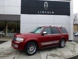 2007 Vivid Red Metallic Lincoln Navigator Luxury 4x4 #77219004