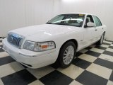 Vibrant White Mercury Grand Marquis in 2011