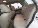 2011 Mercury Grand Marquis LS Ultimate Edition Rear Seat