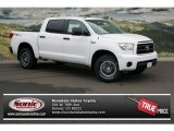2013 Super White Toyota Tundra TRD Rock Warrior CrewMax 4x4 #77218688