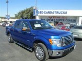 2011 Blue Flame Metallic Ford F150 XLT SuperCrew #77218880