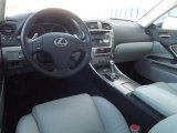 2008 Lexus IS 250 AWD Sterling Gray Interior