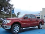 2013 Ruby Red Metallic Ford F150 XLT SuperCrew 4x4 #77218985