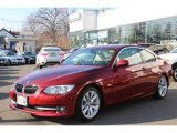 2012 Vermilion Red Metallic BMW 3 Series 328i Coupe #77218854