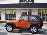 2011 Mango Tango Pearl Jeep Wrangler Sport S 4x4 #77219180