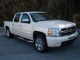 2011 White Diamond Tricoat Chevrolet Silverado 1500 LTZ Crew Cab 4x4 #77219301