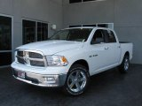 2009 Stone White Dodge Ram 1500 Big Horn Edition Crew Cab #7692141