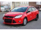 2012 Race Red Ford Focus SE SFE Sedan #77219286