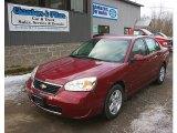 2007 Sport Red Metallic Chevrolet Malibu LT Sedan #77270518