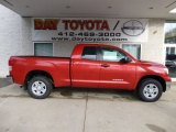 2013 Barcelona Red Metallic Toyota Tundra Double Cab 4x4 #77270274